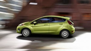 2011 Ford Fiesta (NYSE: F) in Lime Squeeze