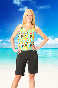 Swim trunks for women make it so you look great and feel confident on the beach