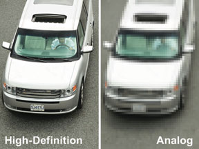 Digital surveillance systems provide high-resolution images and better evidence.