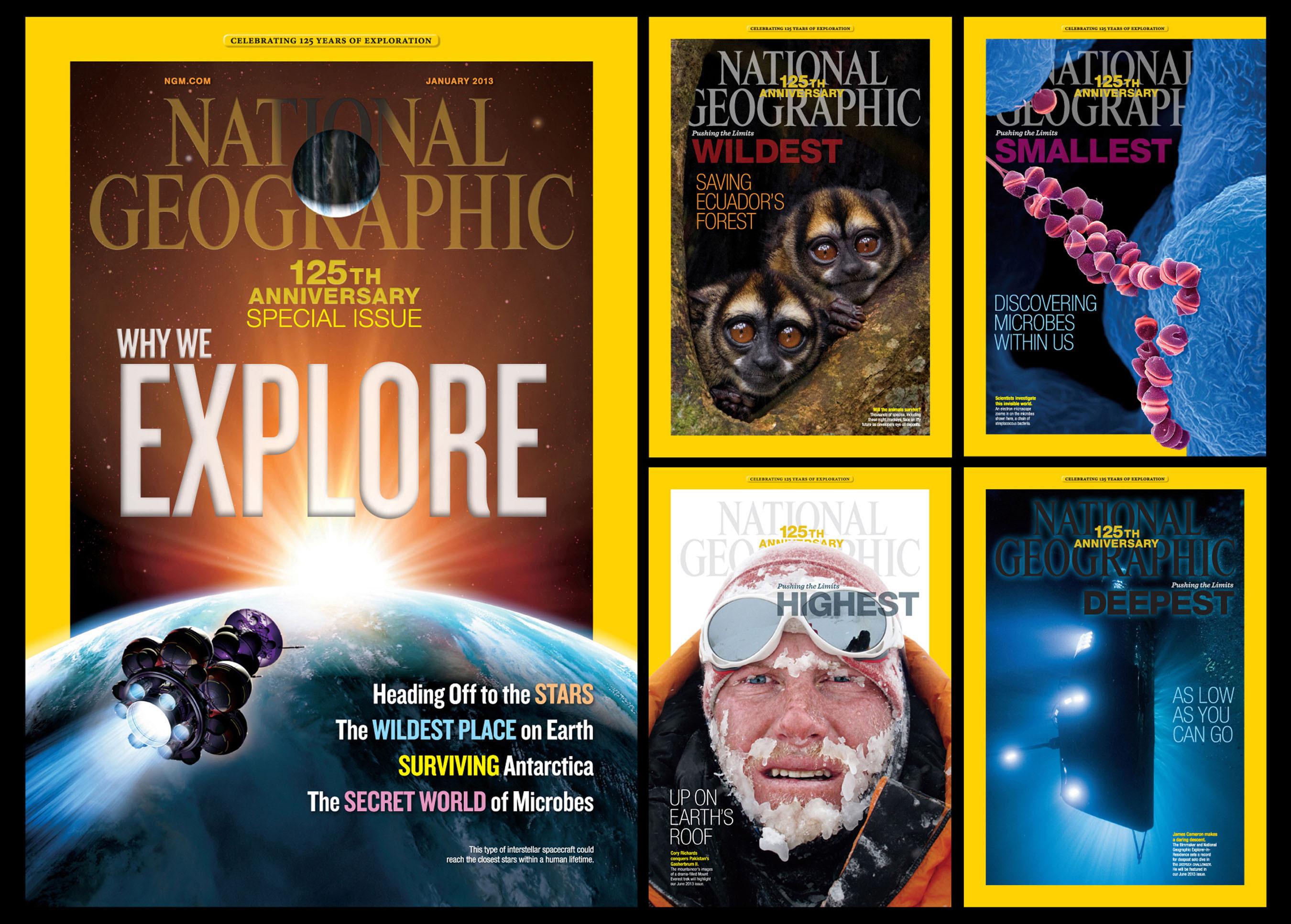 NATIONAL GEOGRAPHIC SOCIETY 125TH ANNIVERSARY